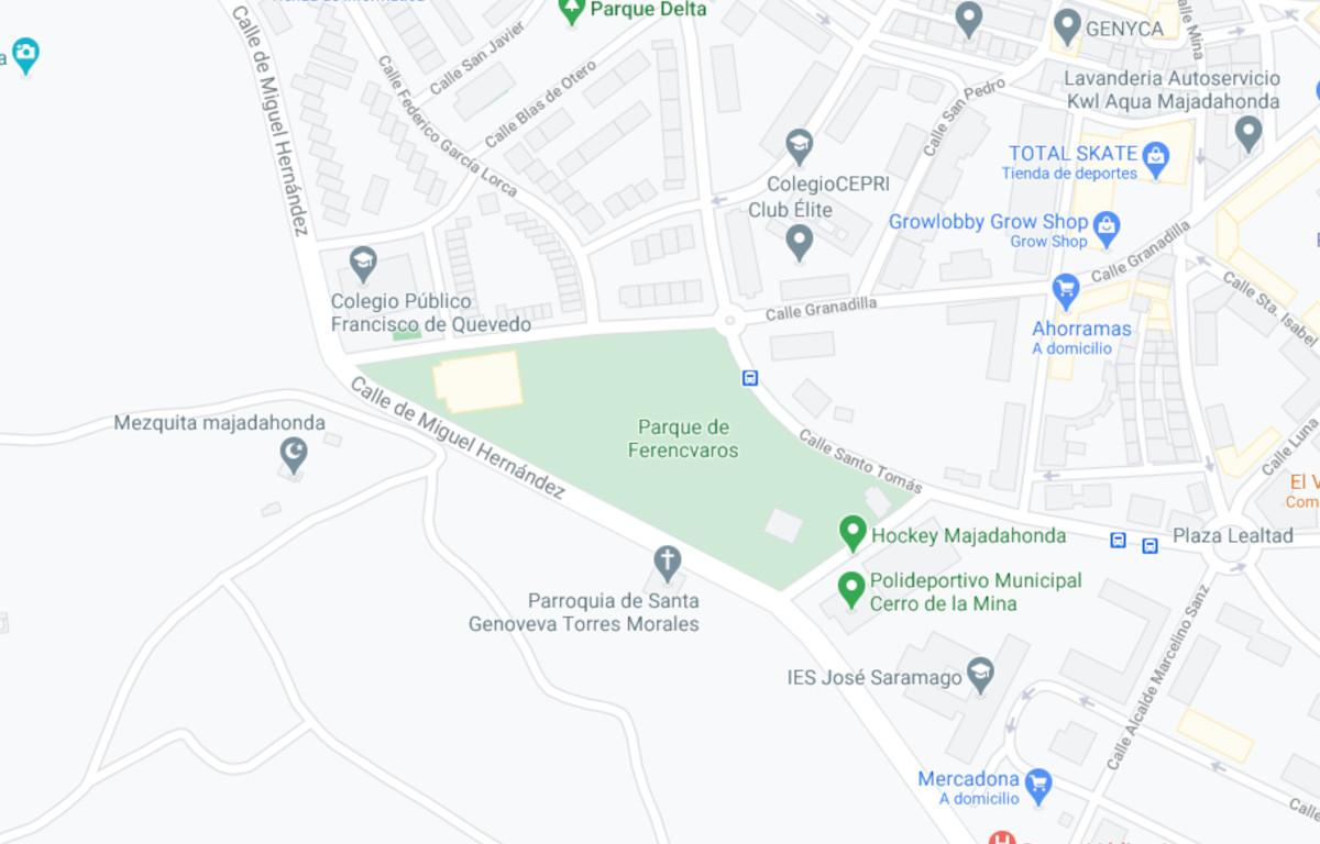 Como llegar a Parque de Ferencvaros
