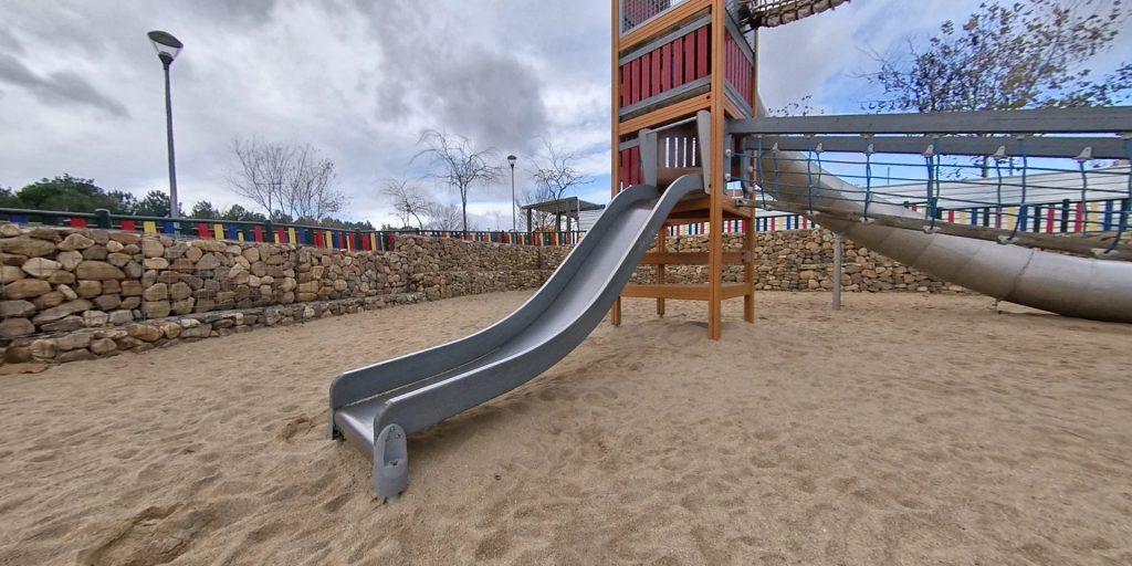 Parque de los tubos Las Rozas