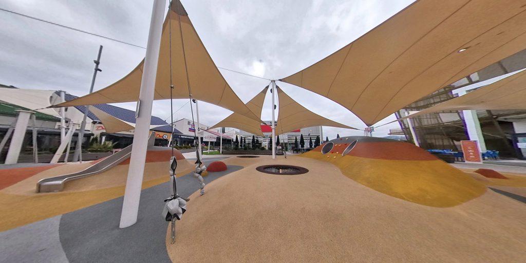 Parque infantil del Planetocio Collado Villalba