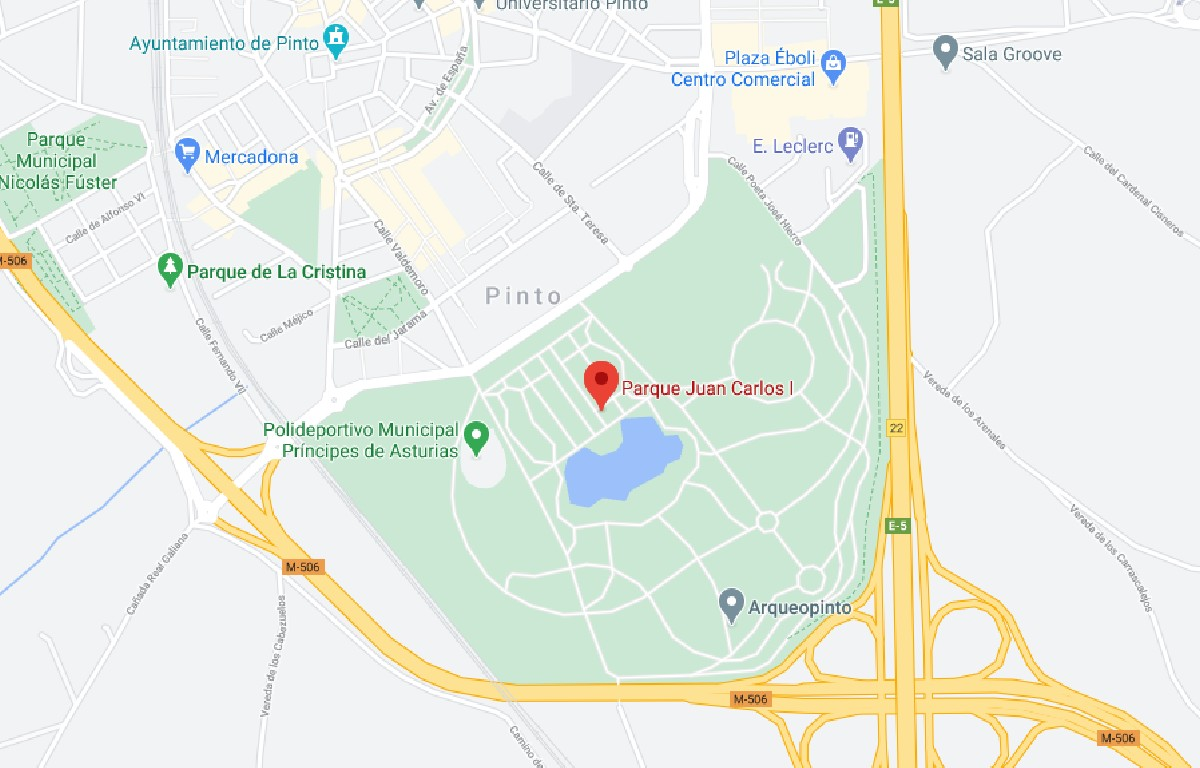Como llegar a Parque Juan Carlos I