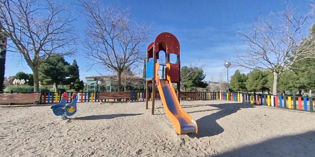 Parque juan Carlos I Pinto