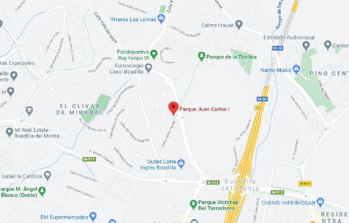 Como llegar a Parque línea Juan Carlos I