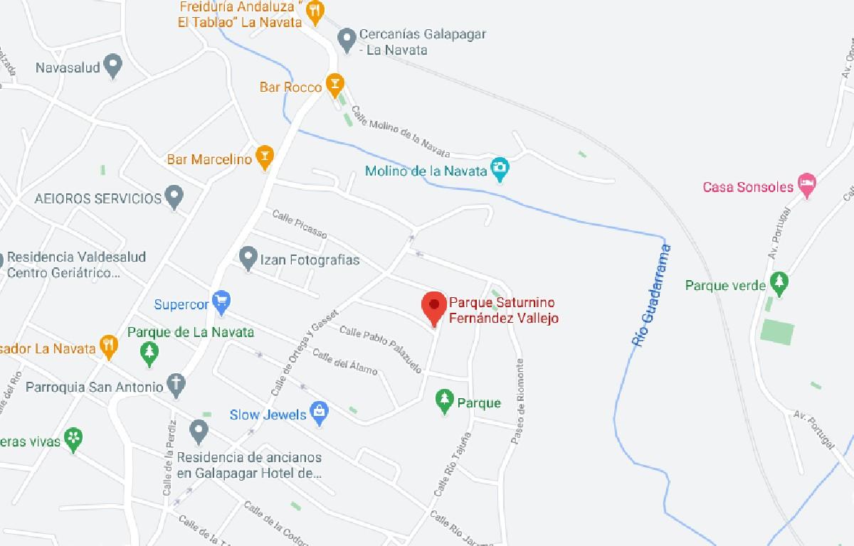 Como llegar a Parque Saturnino Fernández Vallejo