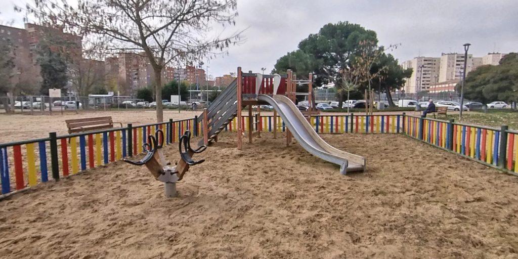 Parque Inclusivo Canarias Móstoles